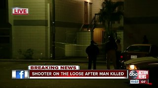 Deputies conducting death investigation at a Tampa apartment complex
