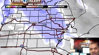 Snow on the way - Video