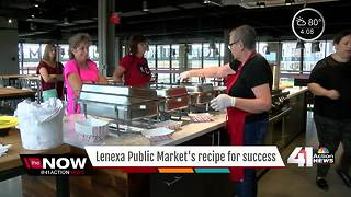 Lenexa Public Market has been open for 1 month - Video