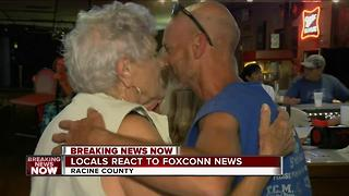 Racine County residents excited for Foxconn announcement - Video