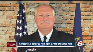 Firefighter dies following massive fire in Greenfield - Video