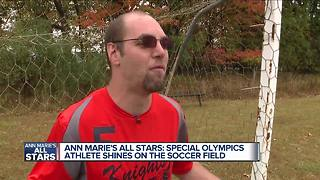 Ann Marie's All Stars: Meet Special Olympics athlete Clinton! - Video