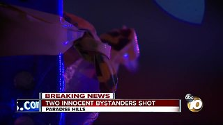 Two people shot in Paradise Hills - Video