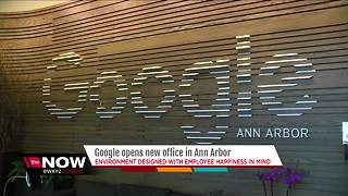 A look inside Google's new Ann Arbor office - Video
