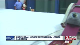 Timeline of Carey Dean Moore execution - Video