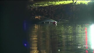 A woman and child die after their car plunges into canal Bonita Springs
