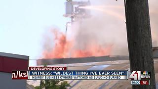 Businesses thankful after massive fire in KCMO