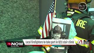 Annual 9/11 Memorial Stair Climb this weekend - Video