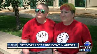 First-ever LGBT pride event to be held in Aurora this weekend - Video