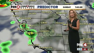 Weekend Showers & Storms
