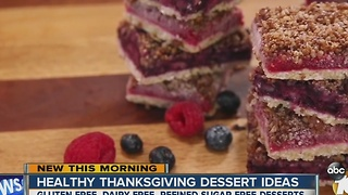 Healthy, Thanksgiving dessert ideas - Video