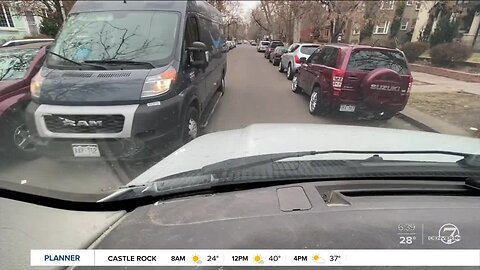 360: How to maneuver around other drivers on Denver's narrow streets