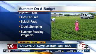 Summer fun on a budget for the family - Video