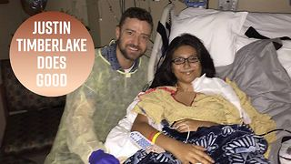 Justin Timberlake visits Santa Fe shooting victim - Video