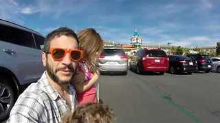 Dad Takes Kids to Legoland But Finds It Closed - Video