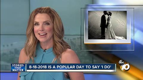 8-18-2018 is a popular day to say 'I Do'