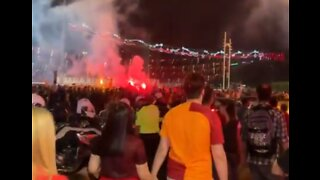 Galatasaray Fans Celebrate Back-to-Back League Titles