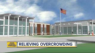 New Manatee County high school will help reduce overcrowding in classrooms - Video