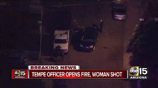 Woman dies after exchanging gunfire with Tempe officers in south Phoenix - Video