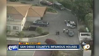 San Diego County's infamous houses - Video