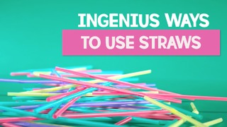 Recycle straws - Video