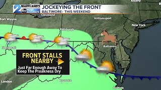 Warmer Temps, Small Rain Chances