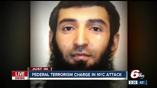 New York attack: Suspect charged with terrorism offenses - Video
