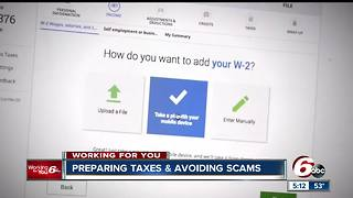 Avoiding scams while preparing your taxes - Video