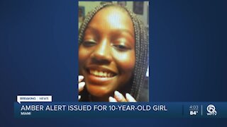 Amber Alert issued for missing 10-year-old girl