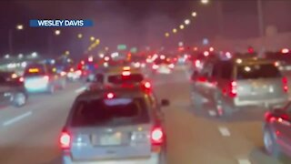"""We are angry. Our community is angry"": Street racers shut down I-225 Sunday night"