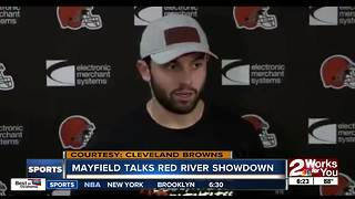 Baker Mayfield weighs in with Red River Showdown prediction
