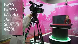 Afghanistan's new TV channel is pushing social limits - Video