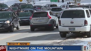 Thousands flock to Mount Charleston for New Year - Video