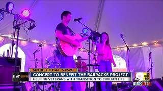 Concert to benefit The Barracks Project