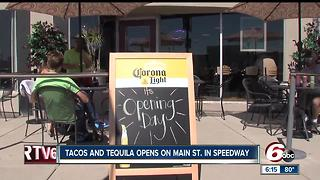 New taco, tequila restaurant opens in Speedway - Video