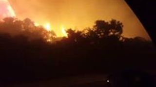 Harrowing Drive Through Knysna Wildfire as Residents Evacuate - Video
