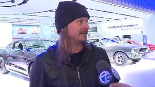 Kid Rock at the North American International Auto Show - Video