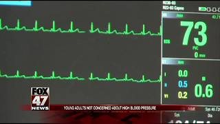 Young adults not concerned about high blood pressure - Video