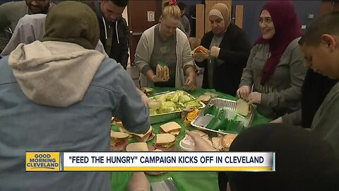 """Local Muslims come together to """"Feed the Hungry"""""""