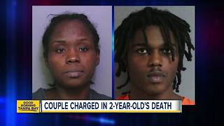 Davenport couple arrested in death of woman's 2-year-old son