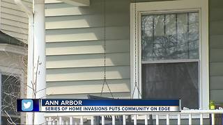 Ann Arbor Police investigating series of home invasions - Video
