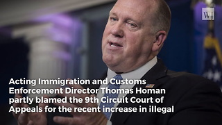ICE Director Says 9th Circuit Court Is Causing Another Surge in Illegal Immigration - Video