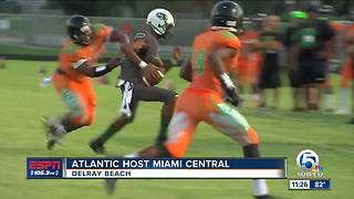 Atlantic hosts Miami Central
