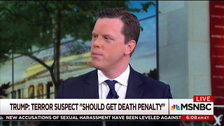 Scarborough Slams Trump for Violating 'Constitutional Norms' with Death Penalty Tweet - Video