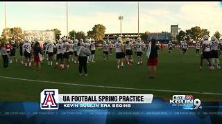 UA holds first spring practice - Video