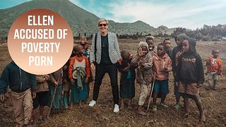 Why Ellen Degeneres' pic with African kids is offensive