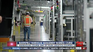 Bakersfield College offering warehouse management business course