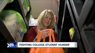 Cuomo want all SUNY schools to have food pantries - Video
