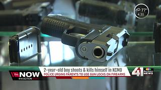Gun safety top-of-mind after toddler kills self - Video