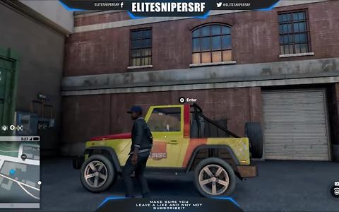 Watch Dogs 2: How to drive the Jeep from Jurassic Park